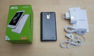 Комплектация телефона Leagoo M5