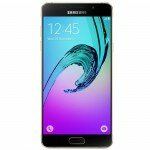Смартфон Samsung Galaxy A5 SM-A510F в золотом корпусе