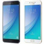 Металлический смартфон Samsung Galaxy C7 Pro