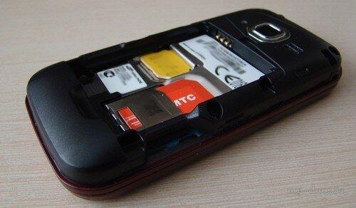 SIM-карты в Samsung C3752