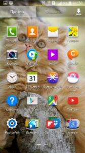 Интерфейс Samsung Galaxy Grand 2 Duos