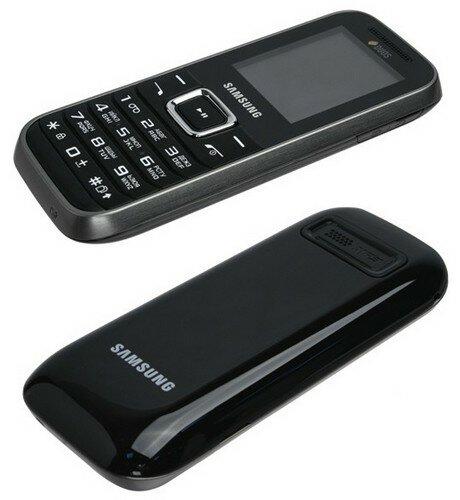 Мобильный телефон Samsung E1232 DUOS (черный)